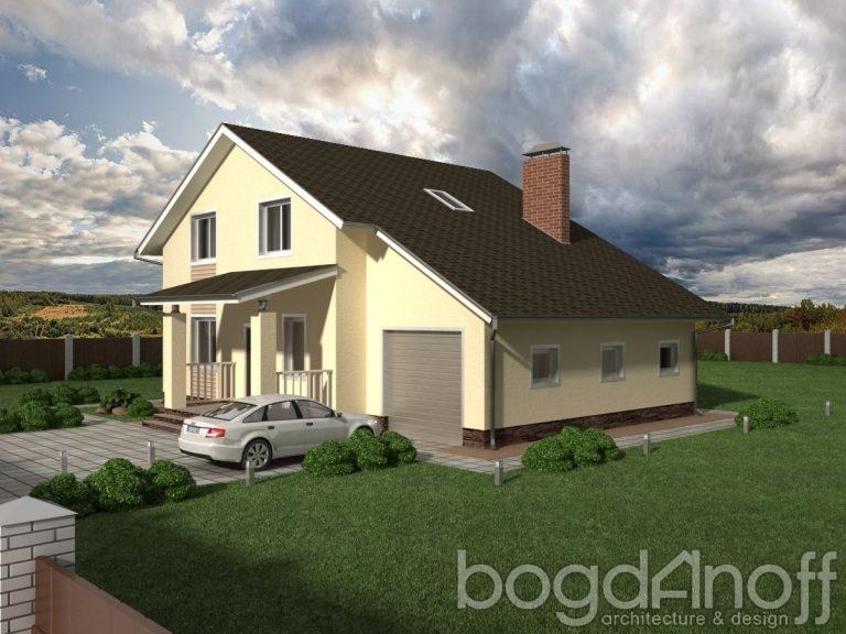 Проект дома П3-133