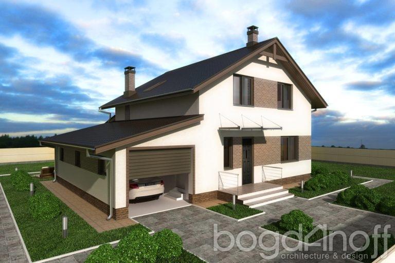 Готовый проект дома П3-134