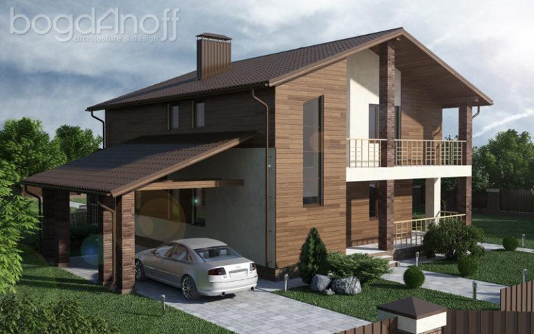 Готовый проект дома П1-31