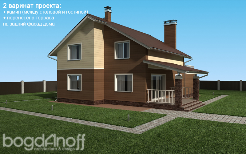 3 Проект дома П13-1