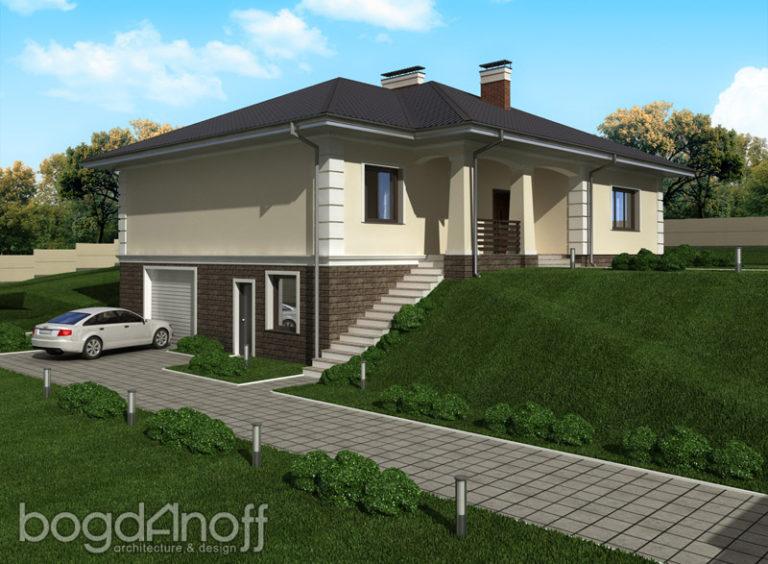 Готовый проект дома П26-1