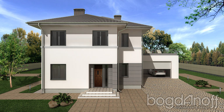 Проект дома П27-2