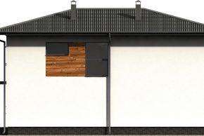 Макет проекта фасада жилого дома
