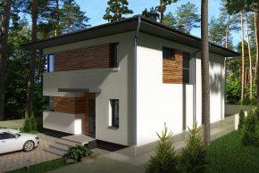 Проект дома форест