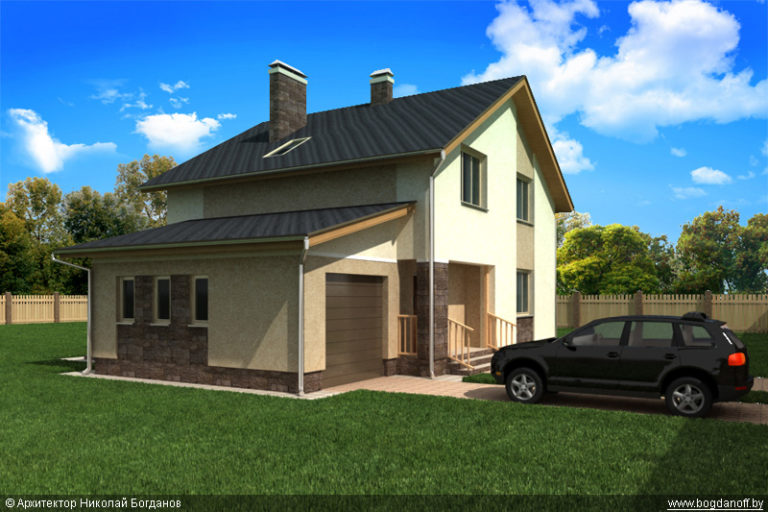 Проект дома П3-131