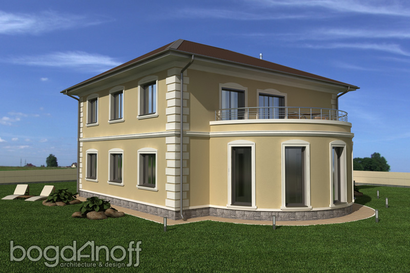 Проект дома в Классическом стиле фото