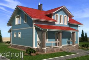 Готовый проект дома Силичи фото