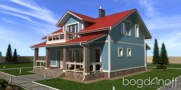 Проект дома Силичи