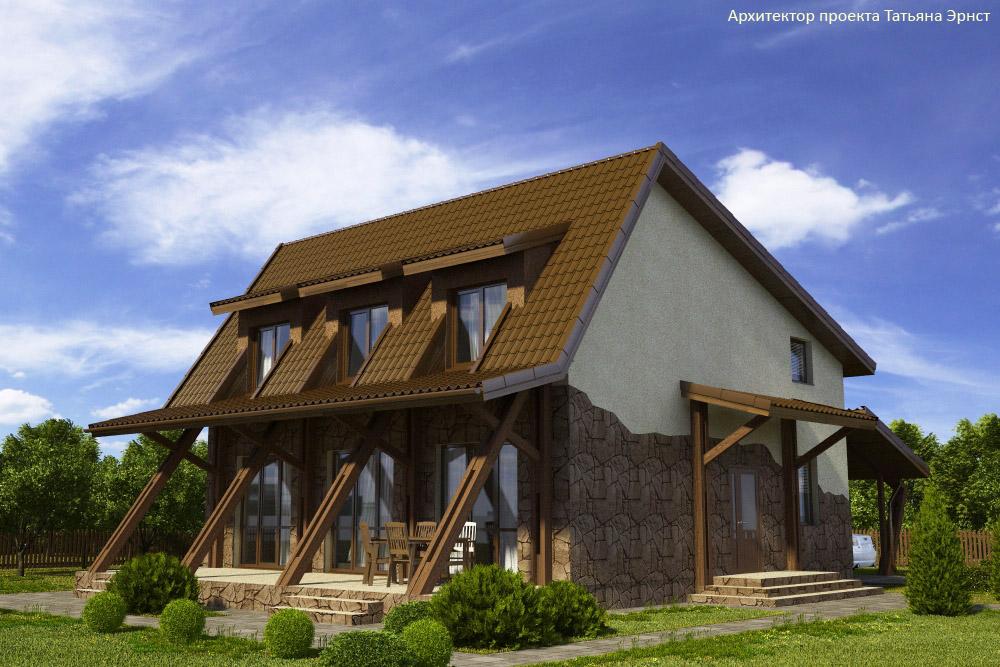 3 Проект дома П22-1
