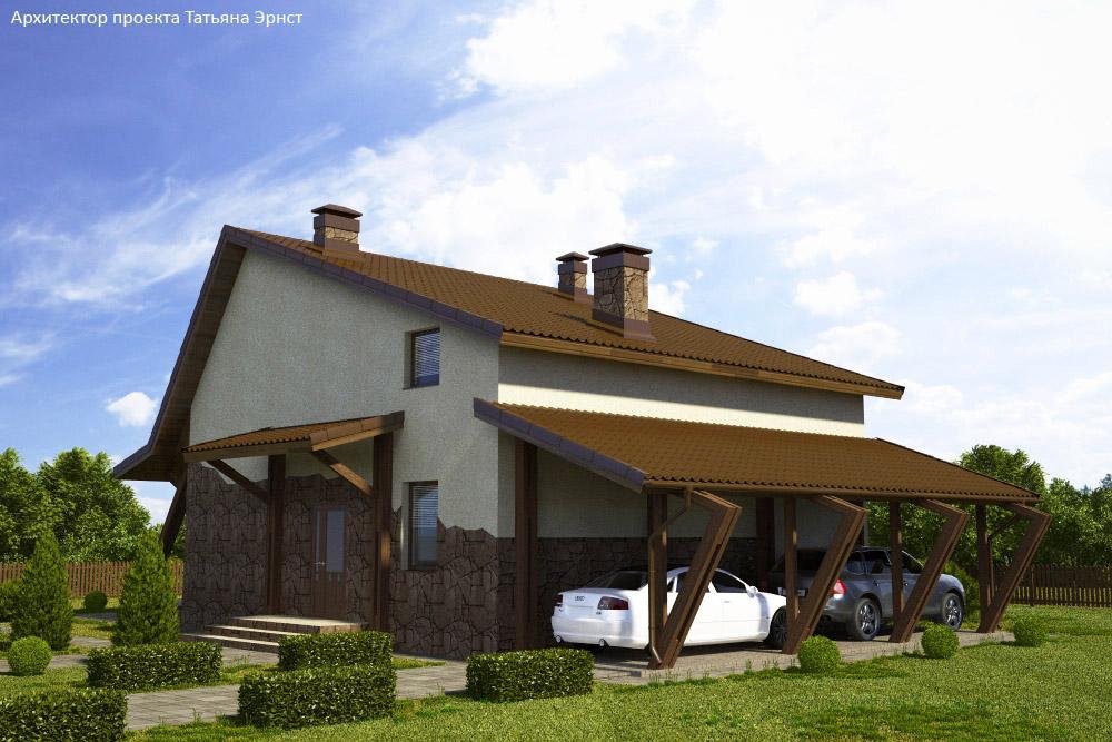 4 Проект дома П22-1