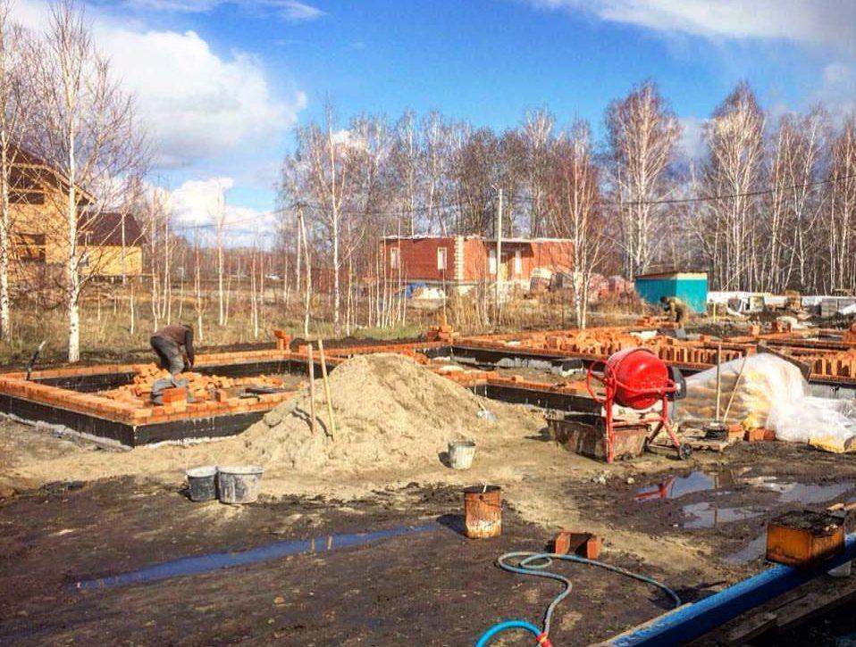 Строительство дома Novosib