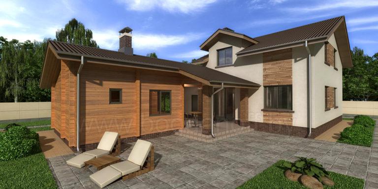 Проект дома Novosib