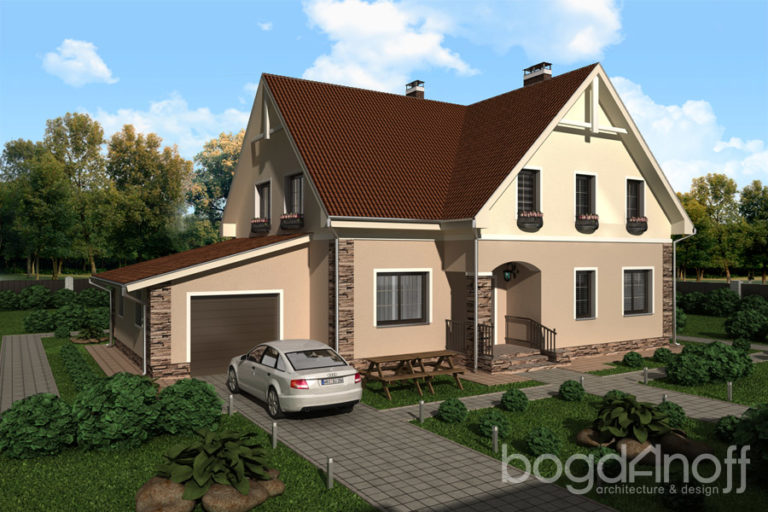Проект дома П1-21