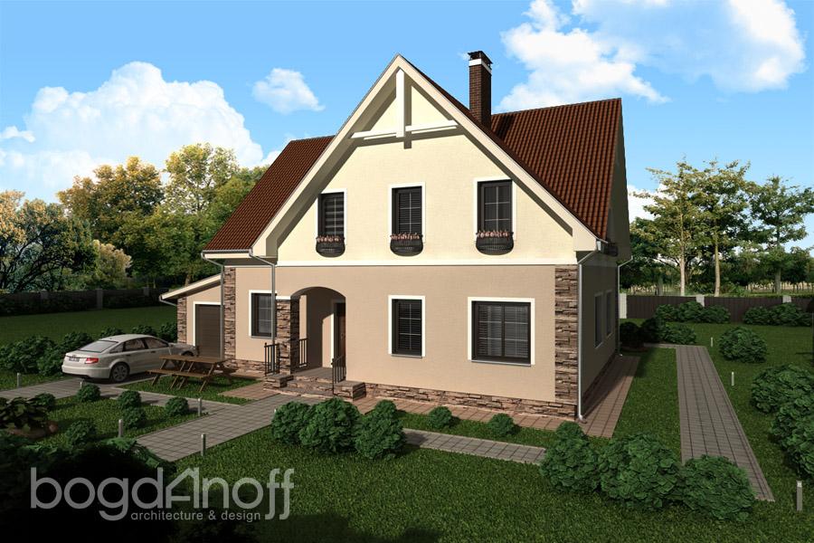 2 Проект дома П1-21
