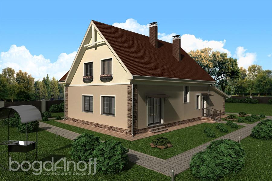 3 Проект дома П1-21