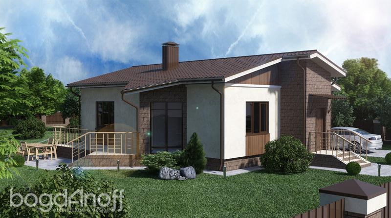 Проект дома П1-42