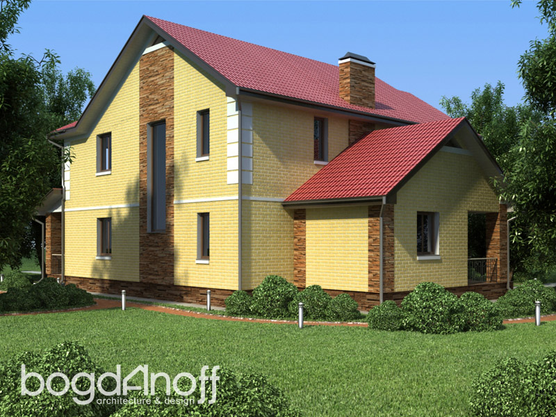 2 Проект дома П1-5