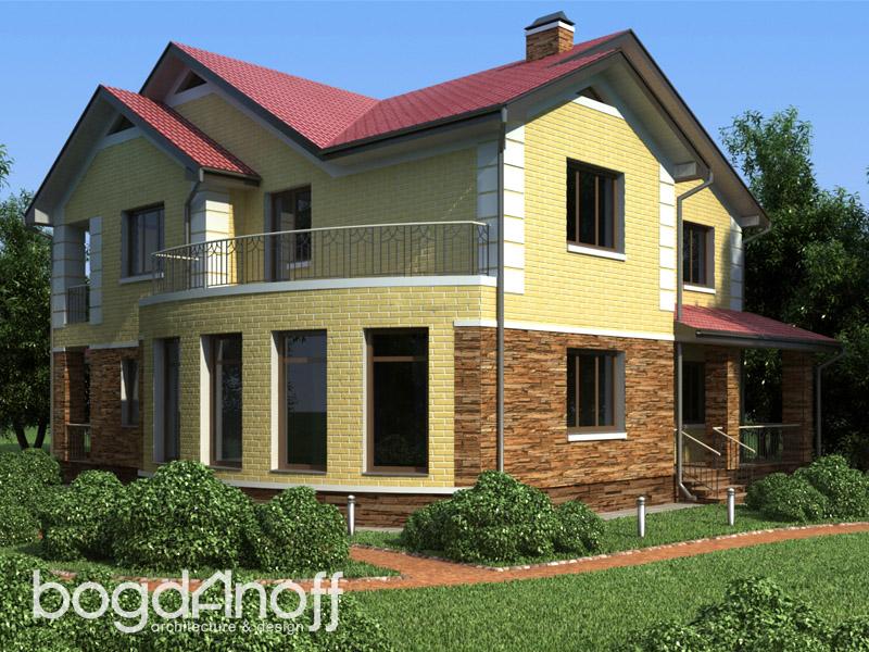 4 Проект дома П1-5