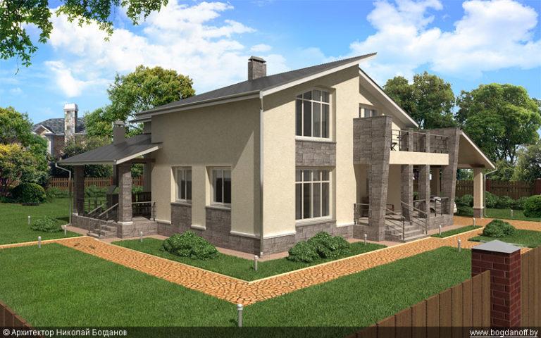 Проект дома П10-1