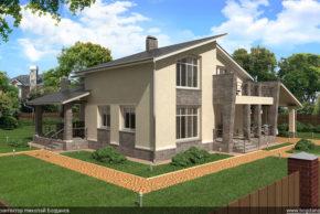 1 Проект дома П10-1