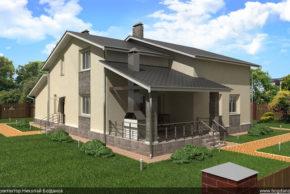 2 Проект дома П10-1