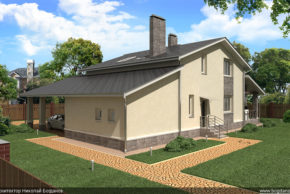 3 Проект дома П10-1
