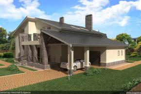 4 Проект дома П10-1