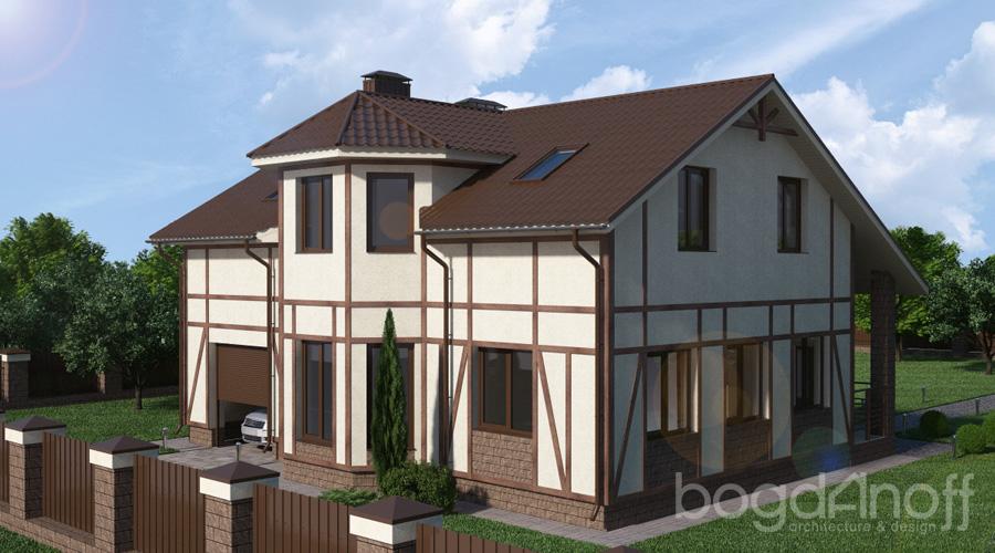 2 Проект дома П11-1