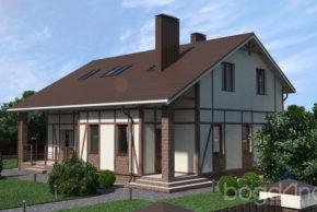 4 Проект дома П11-1