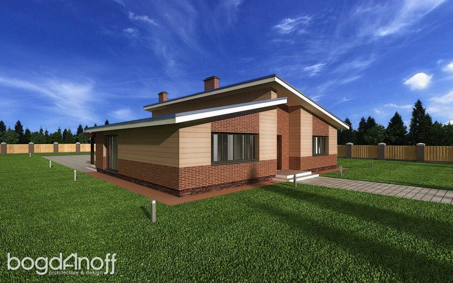 1 Проект дома П11-4