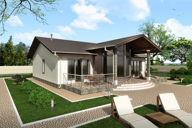 Готовый проект дома П11-5
