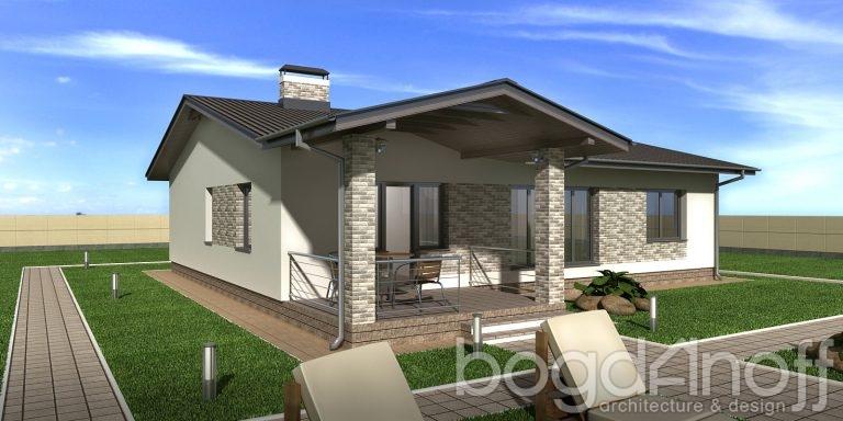 Проект дома П11-52