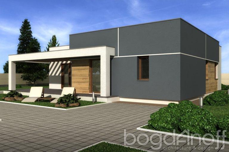 Проект дома П11-61