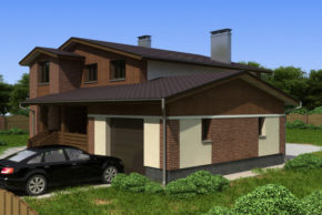 2 Проект дома П12-1