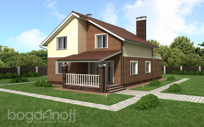 7 Проект дома П13-1