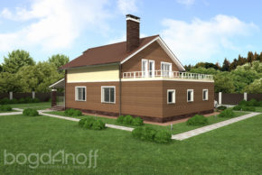 8 Проект дома П13-1