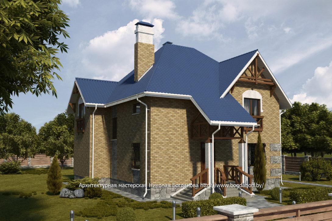 2 Проект дома П14-1