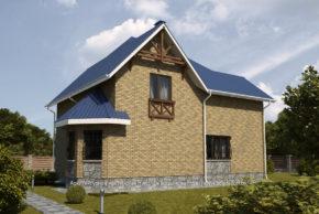 3 Проект дома П14-1