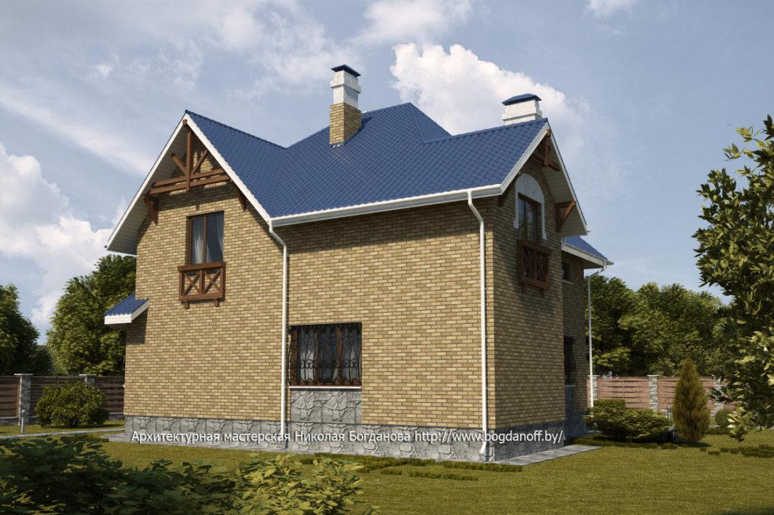 4 Проект дома П14-1