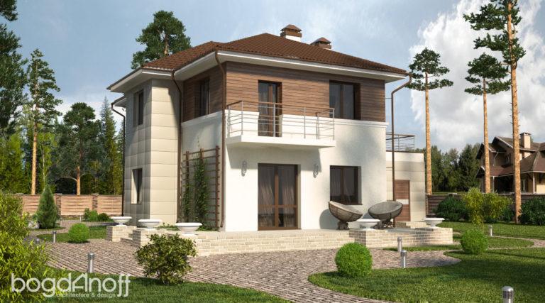Проект дома П15-1