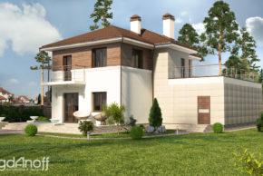 4 Проект дома П15-1