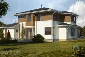2 Проект дома П16-1