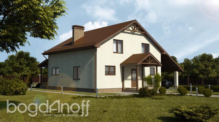 Проект дома П17-1