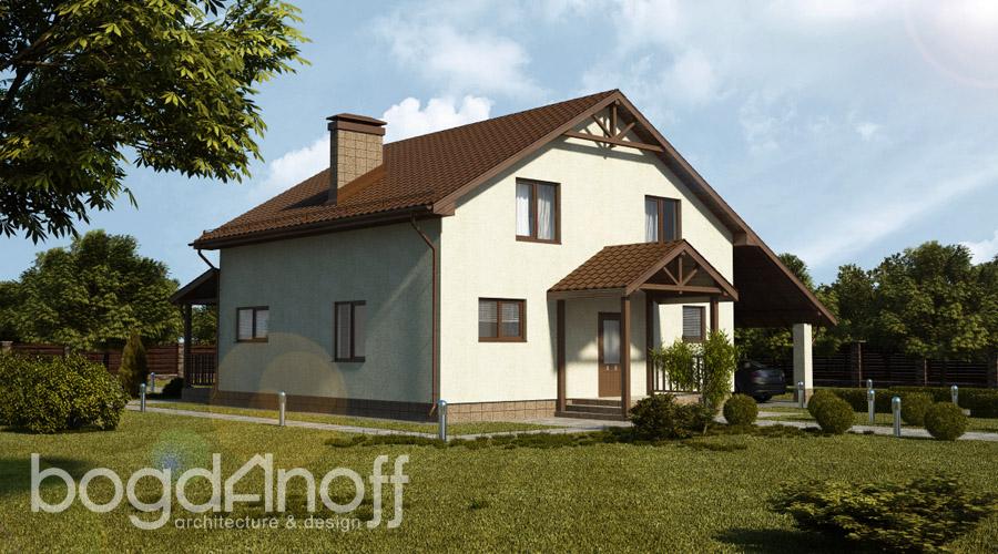 1 Проект дома П17-1