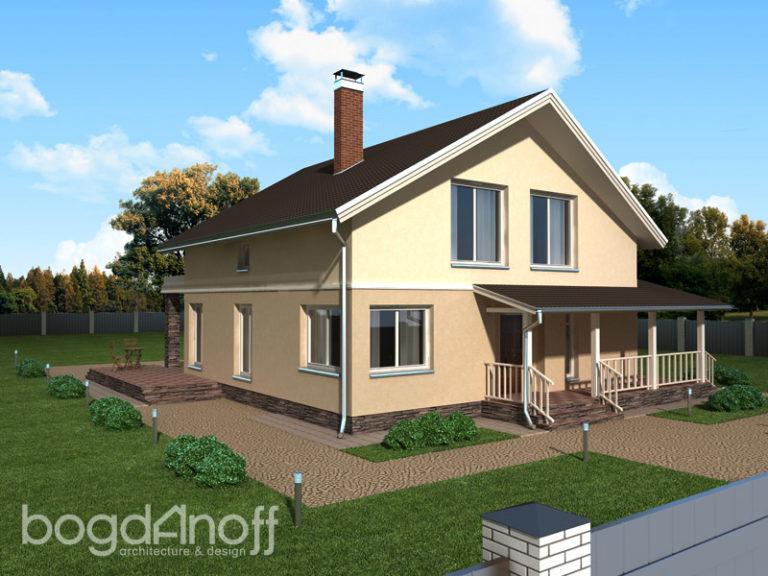 Проект дома П18-1