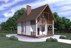 Проект дома П2-12