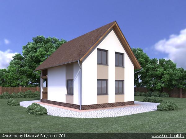 3Проект дома П2-12