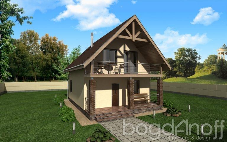 Готовый проект дома П2-121