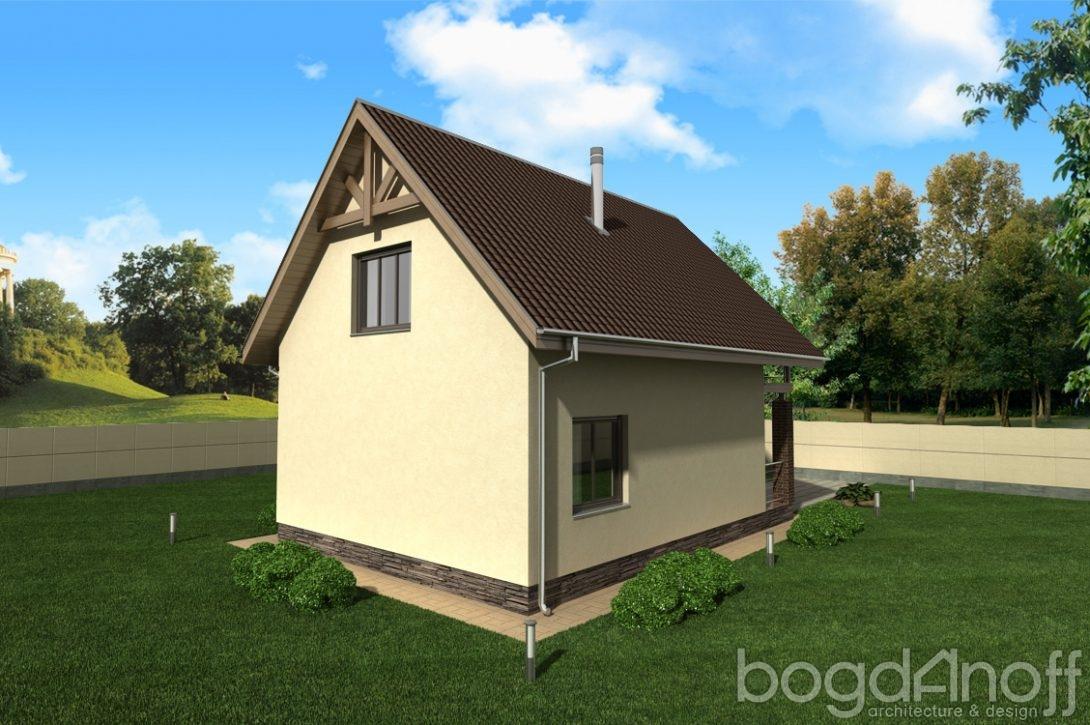 дешевый дом из блоков