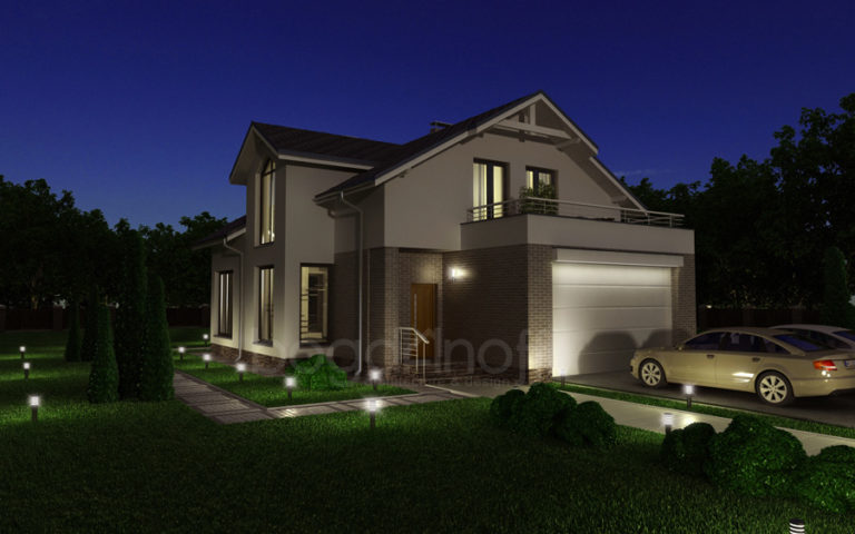 Проект дома П20-12